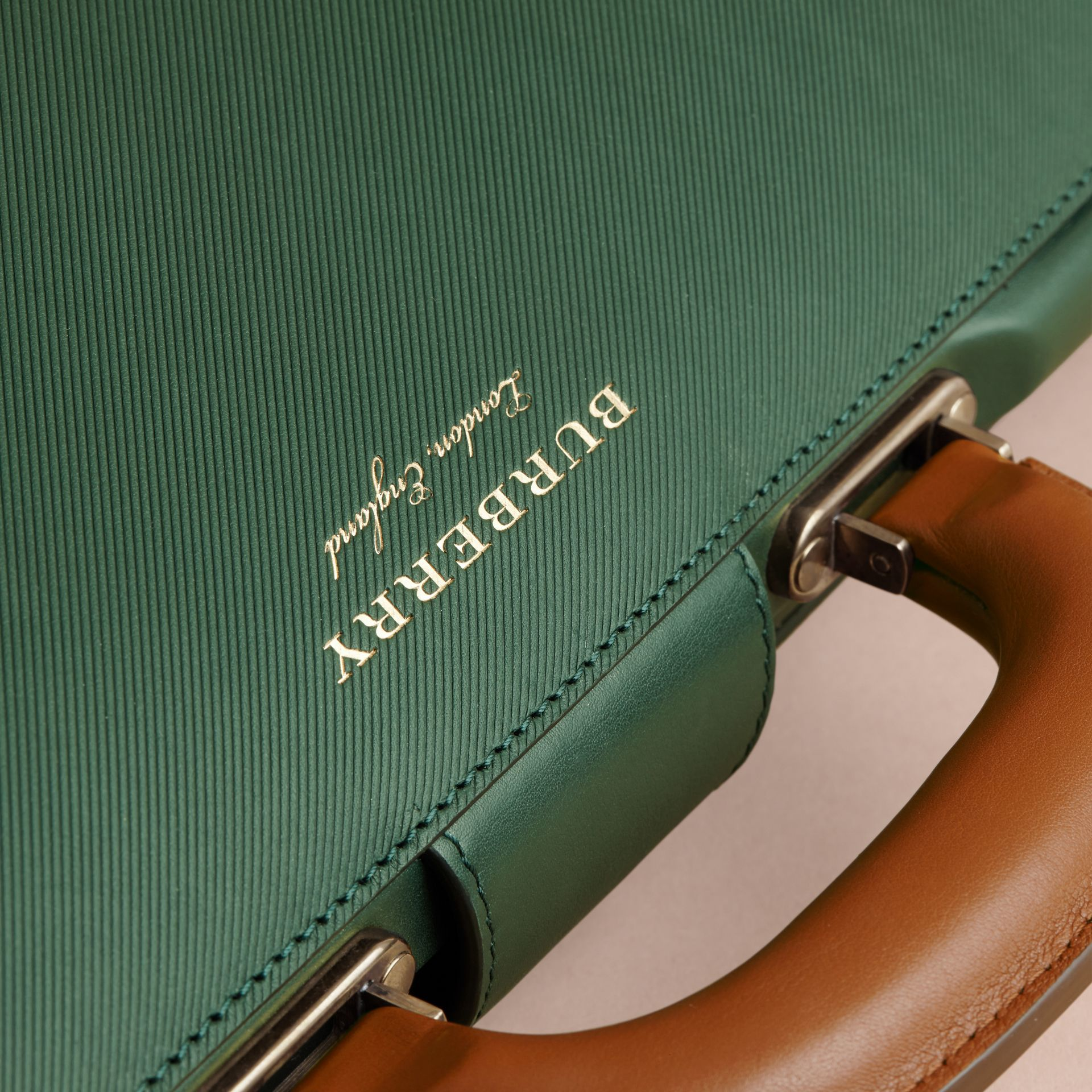 The DK88 Doctor's Bag in Dark Forest Green - Men | Burberry United States - gallery image 2