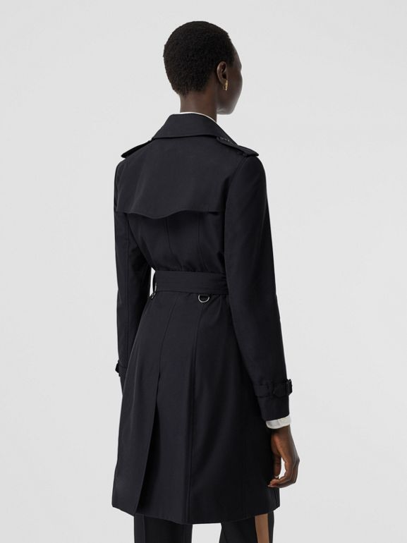 The Chelsea Heritage Trench Coat in Midnight - Women | Burberry United States - cell image 1