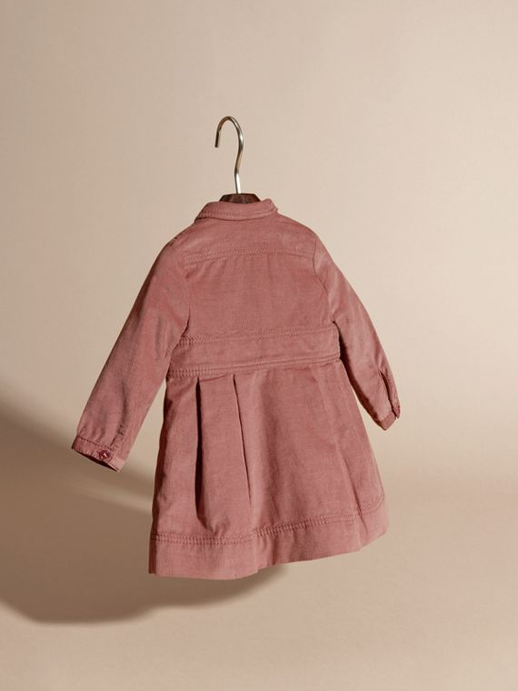 Pale ash rose Cotton Corduroy Shirt Dress Pale Ash Rose - cell image 3