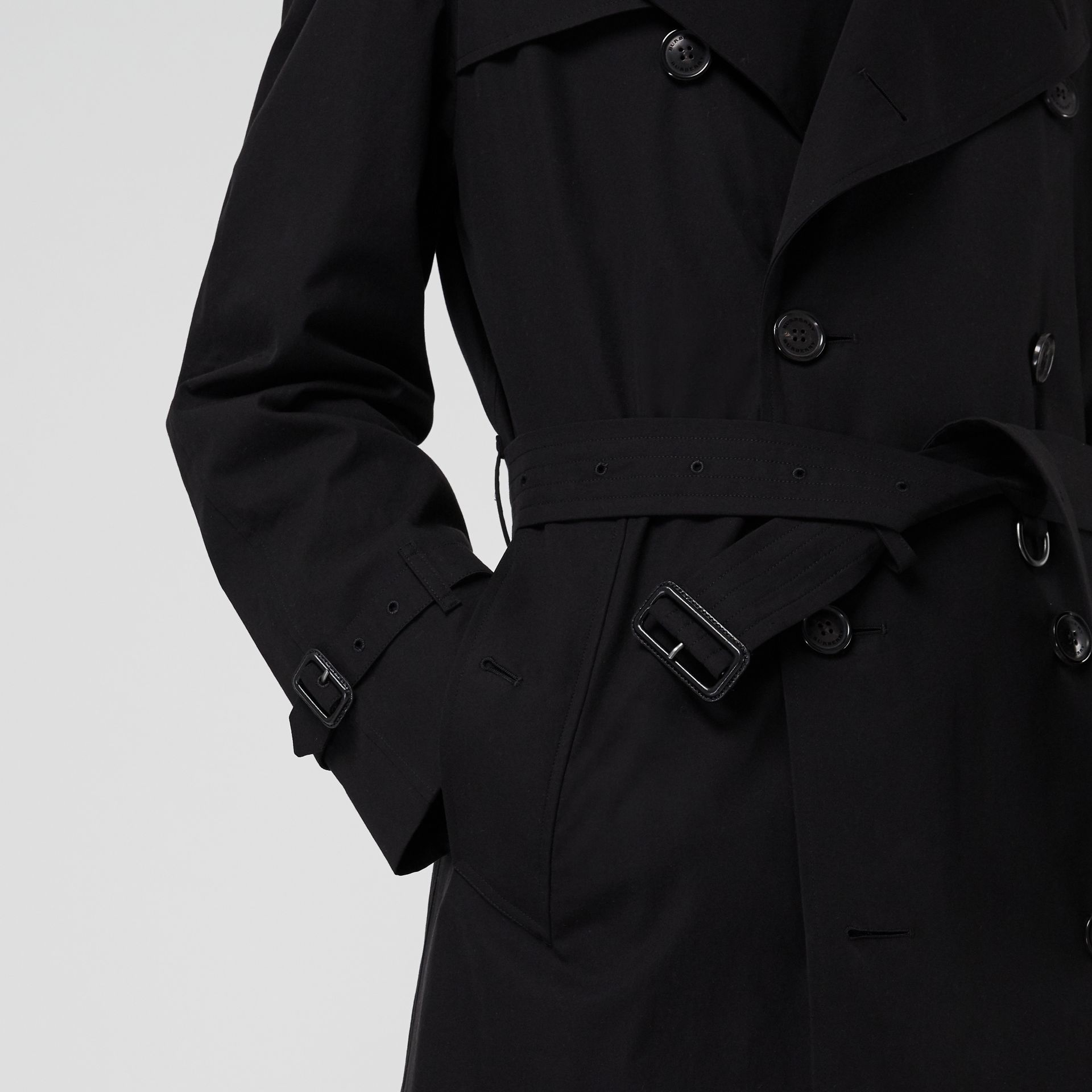 The Westminster Heritage Trench Coat in Black - Men | Burberry Singapore - gallery image 4