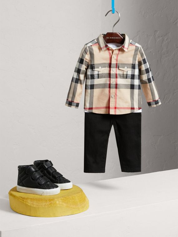 Baumwollhemd In Check (New Classic) - Jungen | Burberry - cell image 2