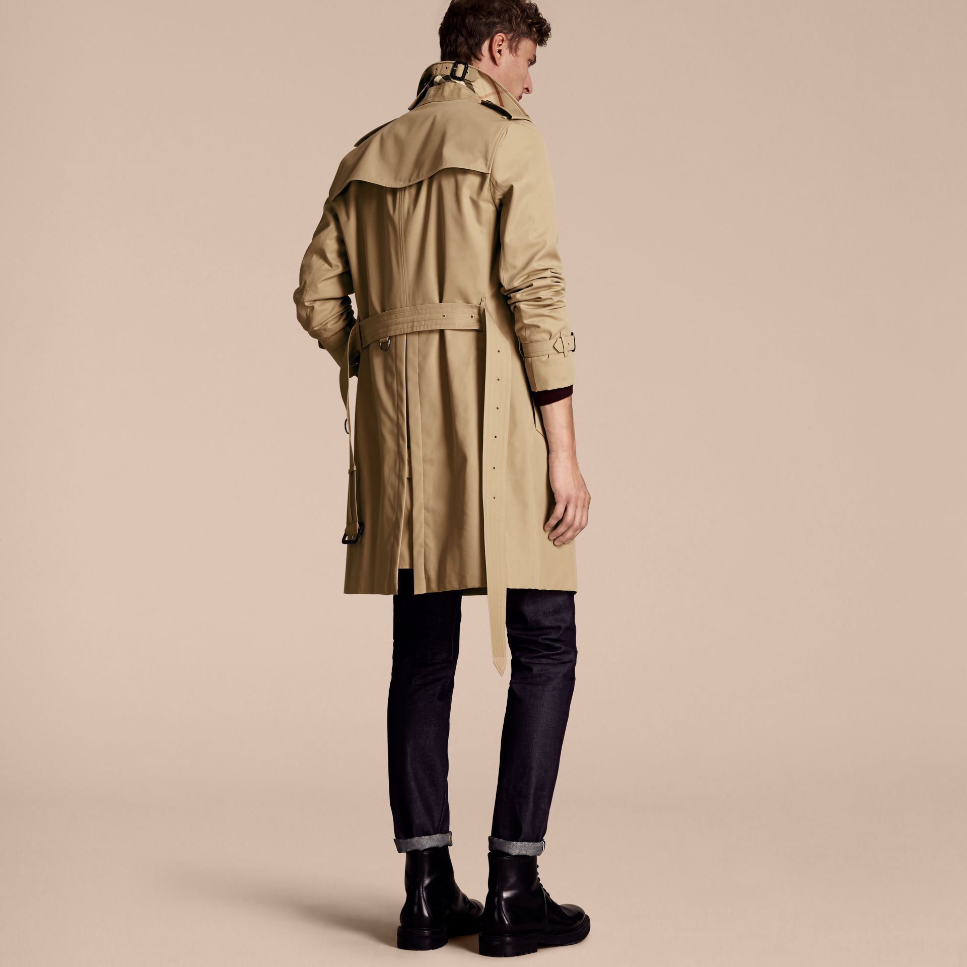 Miel The Sandringham – Trench-coat Heritage long Miel - photo de la galerie 3