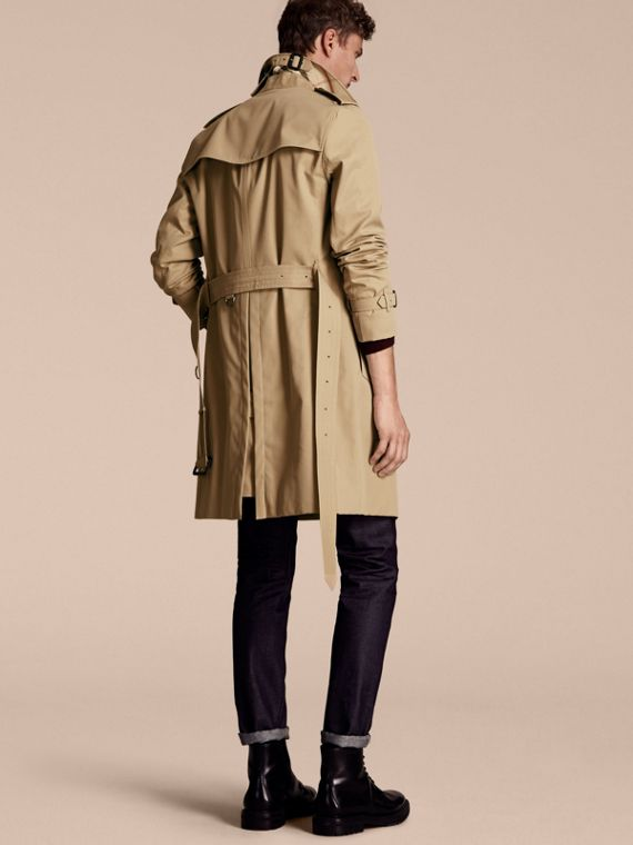Miel Trench coat Sandringham - Trench coat Heritage largo Miel - cell image 2