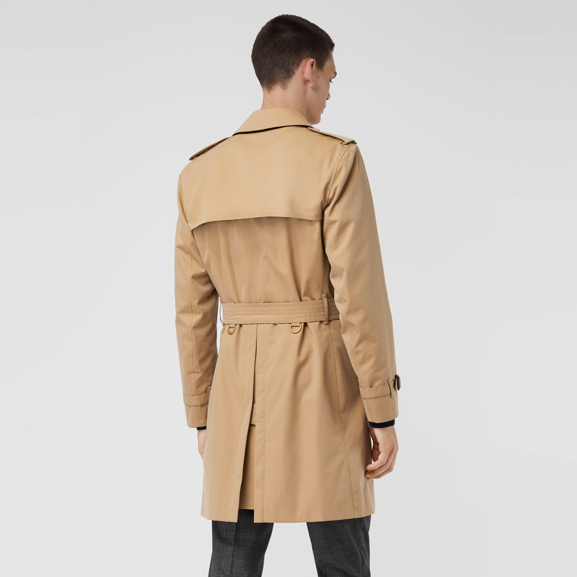 Trench Heritage The Kensington (Miel) - Homme | Burberry - photo de la galerie 2