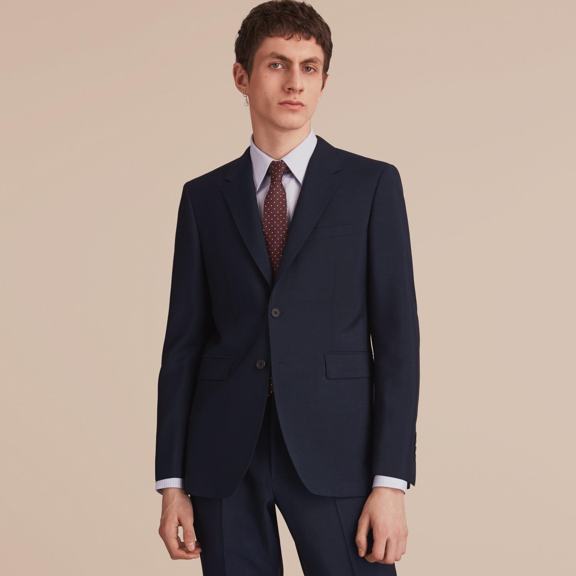 Cravate moderne en sergé de soie à pois - Homme | Burberry - photo de la galerie 3