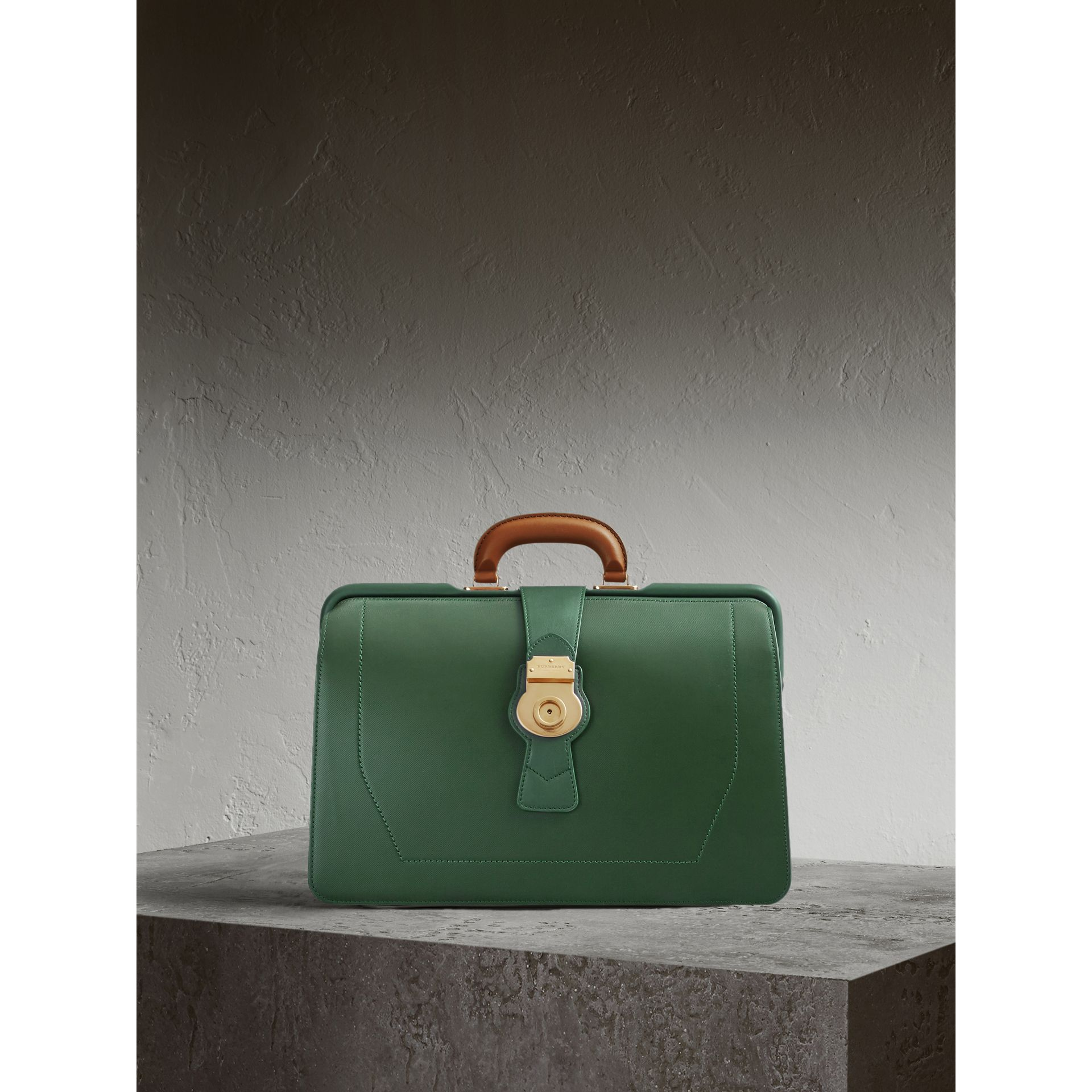 The DK88 Doctor's Bag in Dark Forest Green - Men | Burberry United Kingdom - gallery image 1