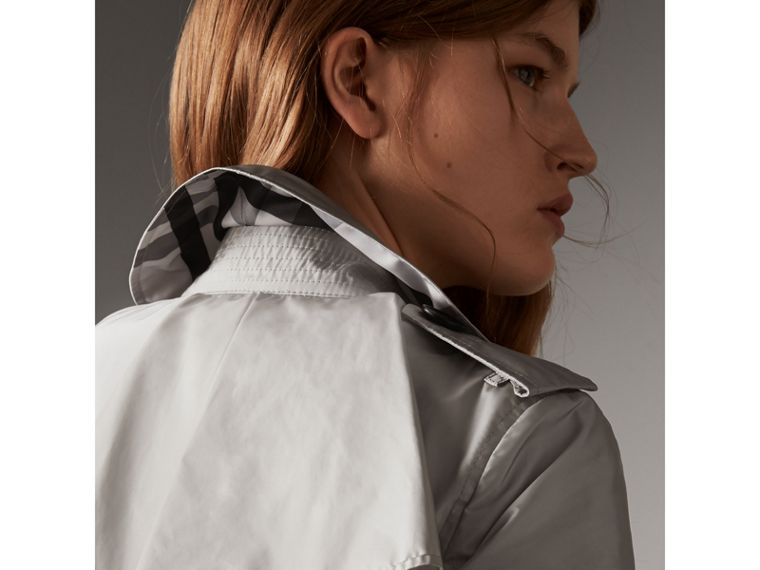 Showerproof Trench Coat in Pale Grey - Women | Burberry - cell image 1