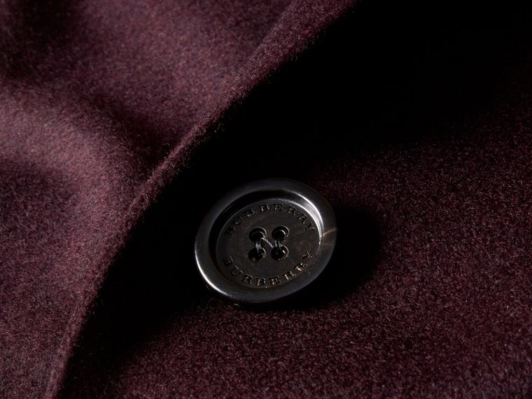 Dark elderberry Cashmere Tailored Coat Dark Elderberry - cell image 1