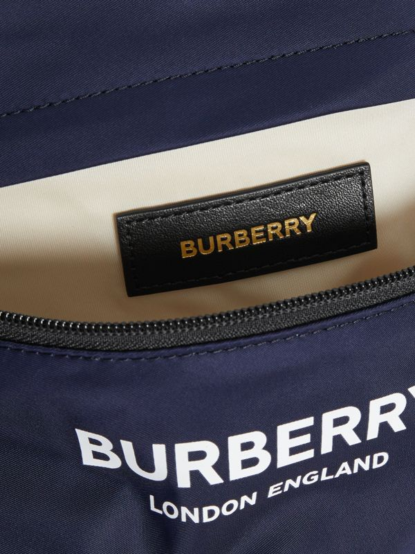 Logo Print Two-tone Convertible Bum Bag in Pearl - Children | Burberry - cell image 3