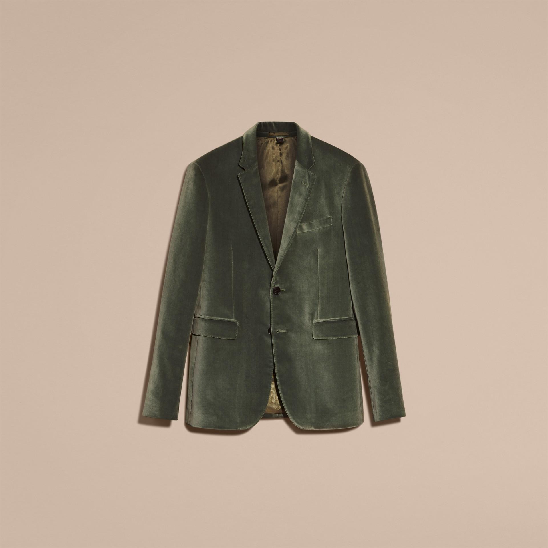 Бледный эвкалипт Бархатный пиджак - изображение 4