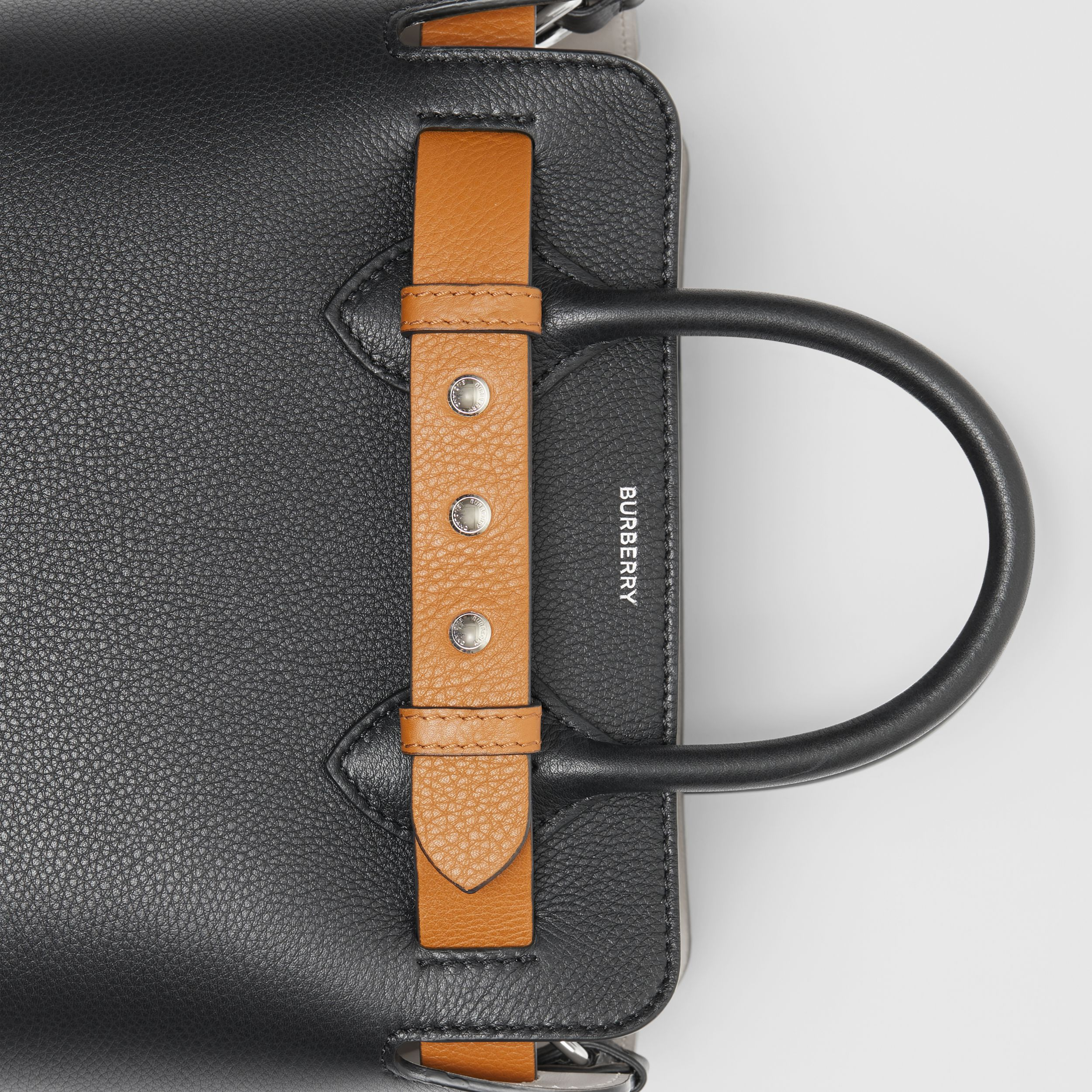 The Mini Leather Triple Stud Belt Bag in Black - Women | Burberry Australia - 2