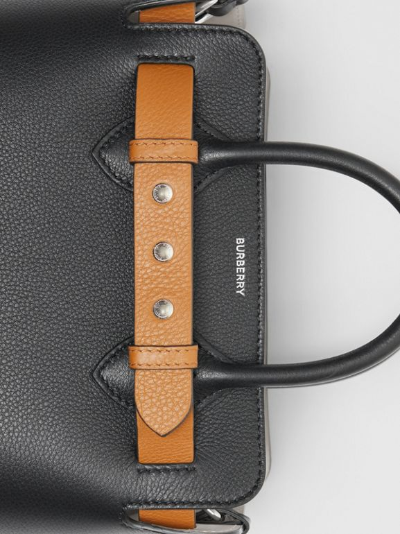 Borsa The Belt mini in pelle con tre borchie (Nero) - Donna | Burberry - cell image 1