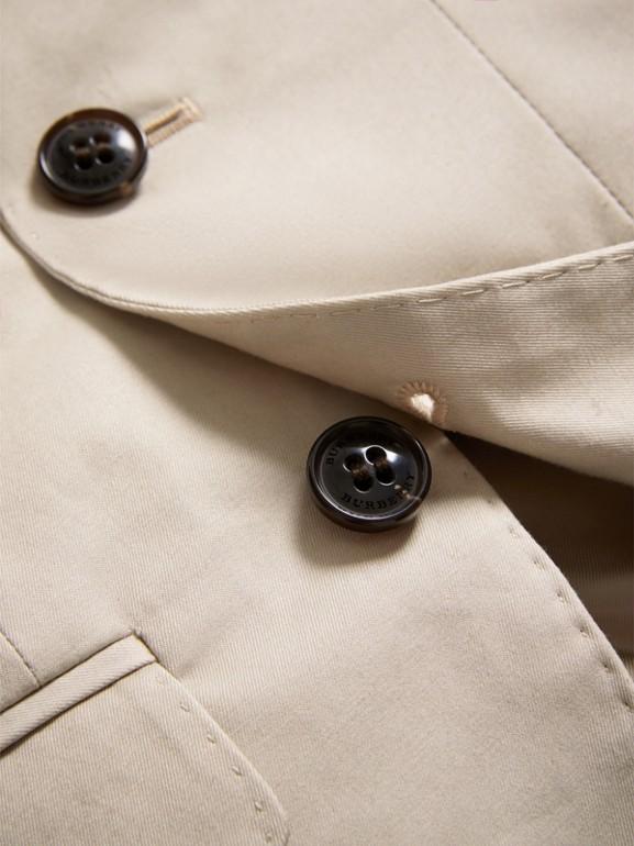 Americana de vestir en algodón elástico (Piedra) | Burberry - cell image 1