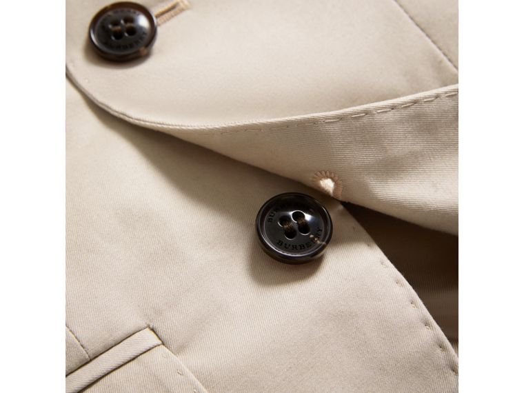 Tailored Stretch Cotton Blazer in Stone - Boy | Burberry Australia - cell image 1