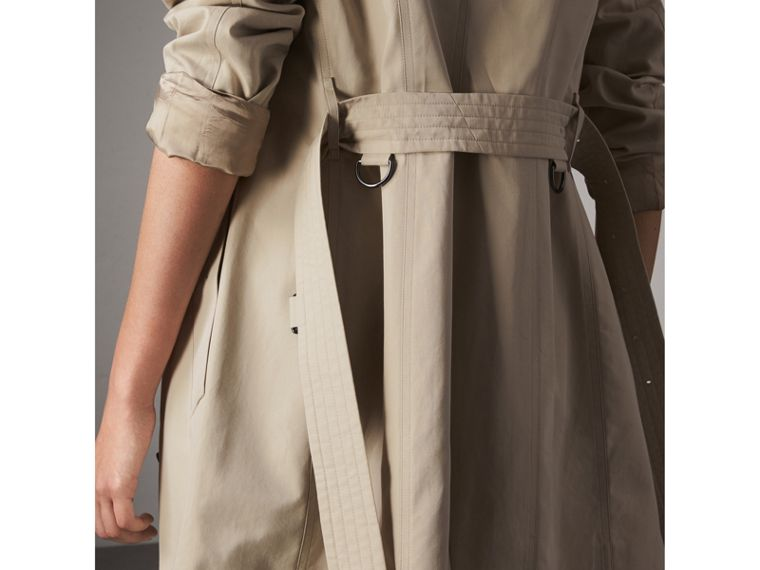 The Sandringham – Mid-length Trench Coat in Stone - Women | Burberry - cell image 4
