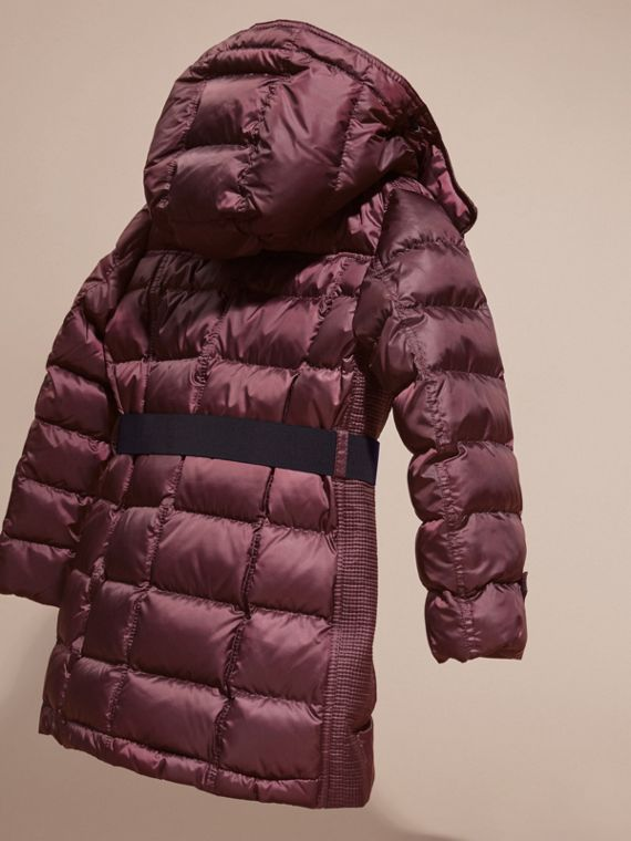 Beetroot Showerproof Puffer Coat - cell image 3