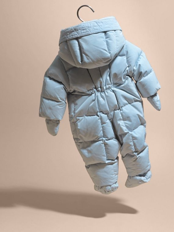Ice blue Down-filled Puffer Suit Ice Blue - cell image 3