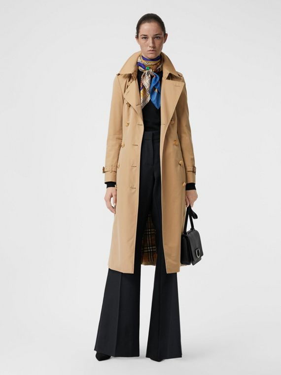 Trench coat Heritage The Chelsea lungo (Miele)