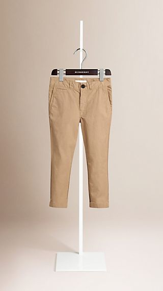 Lightweight Cotton Twill Chinos