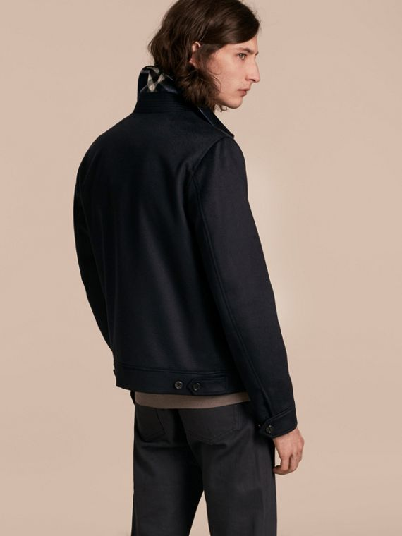 Navy Cashmere Jacket - cell image 2