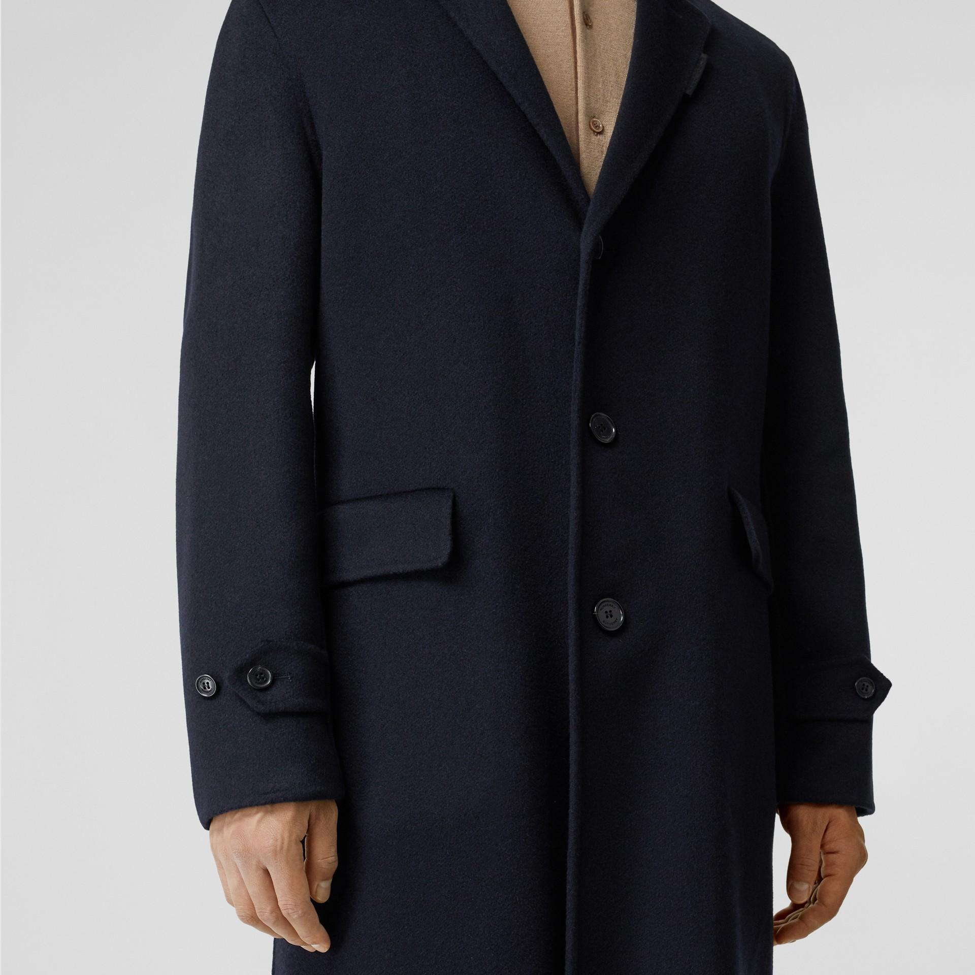 Пальто Lab Coat из кашемира (Темно-синий) - Для мужчин | Burberry - изображение 4