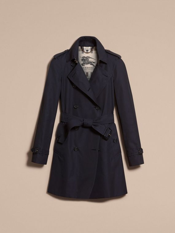 Navy The Westminster – Mid-Length Heritage Trench Coat Navy - cell image 3