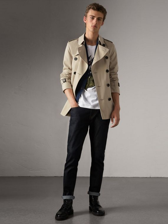 The Kensington - Trench coat corto (Pietra)