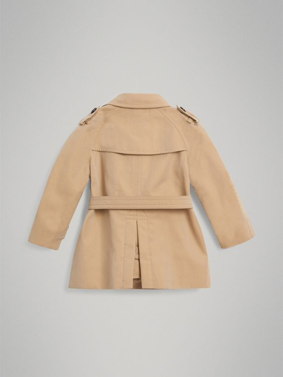 The Wiltshire Trench Coat in Honey | Burberry Canada - cell image 3