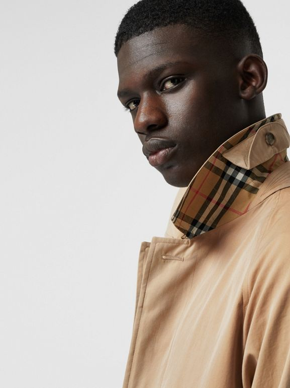 The Camden Car Coat in Honey - Men | Burberry United States - cell image 1