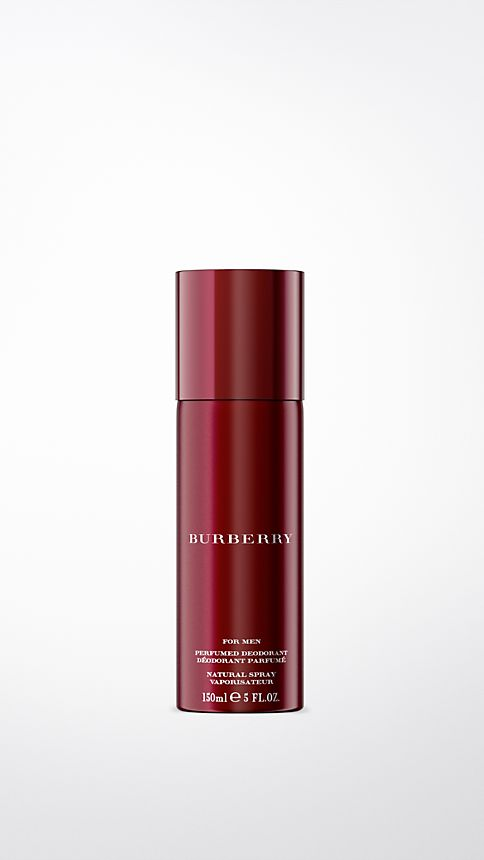 Alizarin crimson Burberry For Men Deodorant Natural Spray 150ml - Image 1