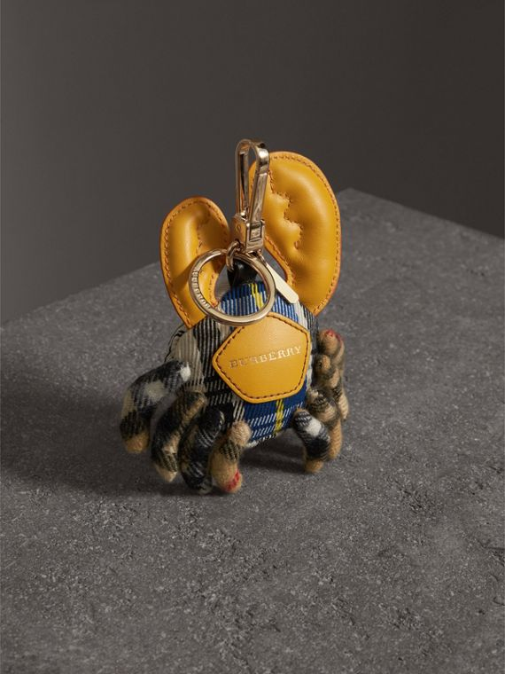 Paul The Crab Cashmere Charm in Blue/multicolour | Burberry Australia - cell image 3