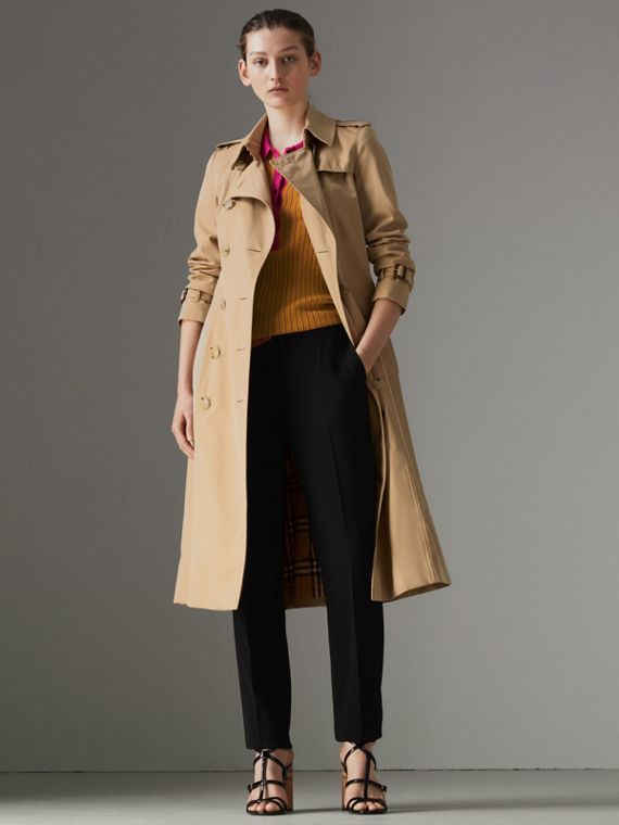 Trench coat Heritage Chelsea largo (Miel)