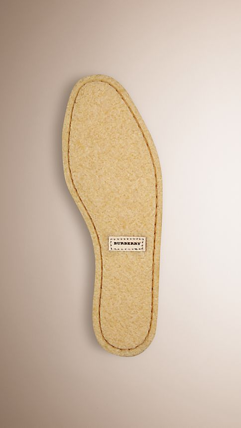 Brown Crepe Sole Suede Shoes - Image 4