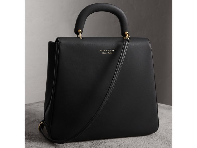 The Large DK88 Top Handle Bag in Black - Women | Burberry - cell image 4