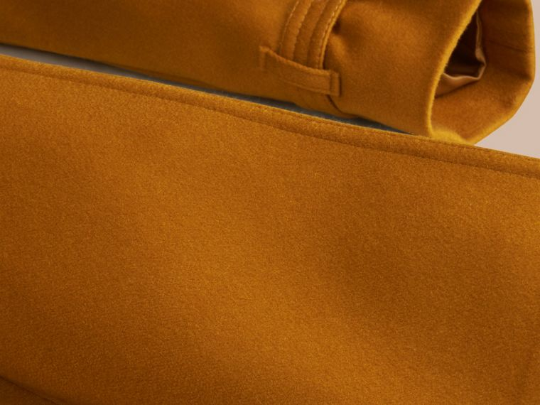 Umber yellow Sandringham Fit Cashmere Trench Coat Umber Yellow - cell image 1