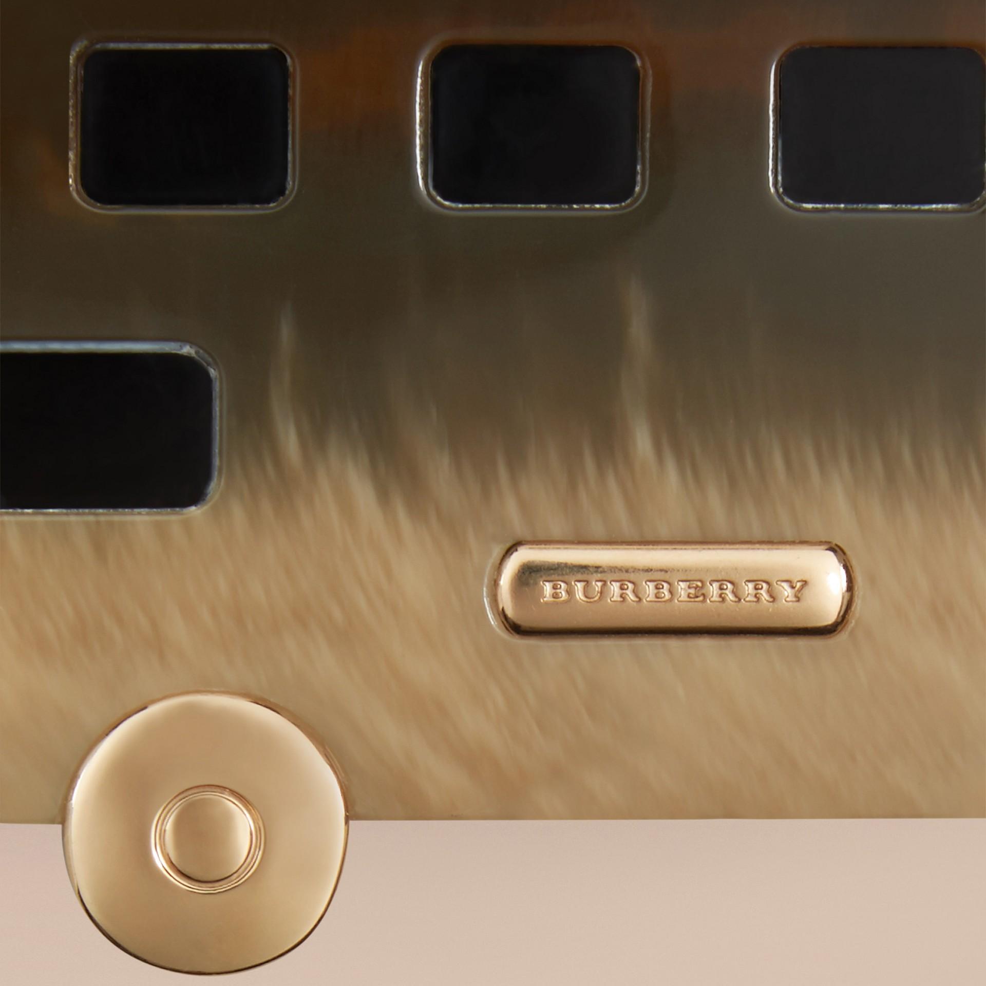 Naturale Ciondolo portachiavi icona britannica - immagine della galleria 2