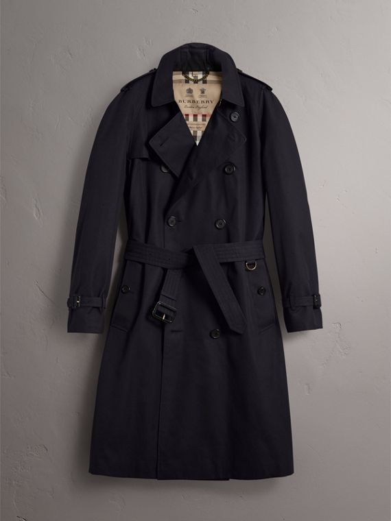 The Westminster - Trench coat extralongo (Azul Marinho) - Homens | Burberry - cell image 3