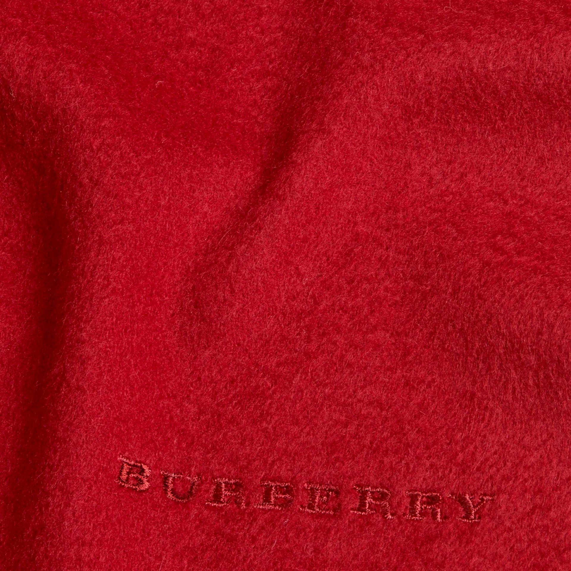 Parade red The Mini Classic Cashmere Scarf Parade Red - gallery image 4