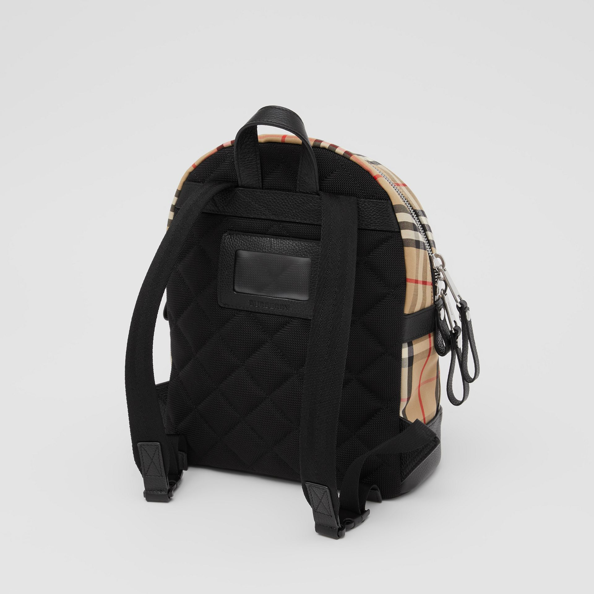 Logo Appliqué Vintage Check Backpack in Archive Beige - Children | Burberry United Kingdom - gallery image 2