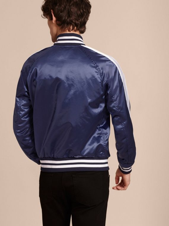 Bright navy Varsity Bomber Jacket - cell image 2