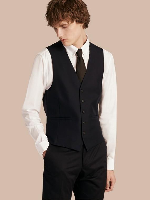 Slim Fit Wool Waistcoat
