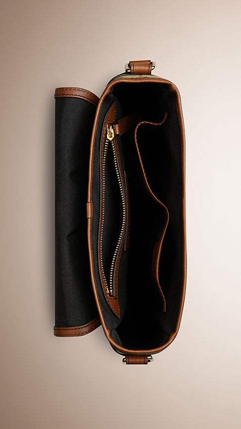 Hâle Sac à bandoulière en Horseferry check et cuir - Image 5