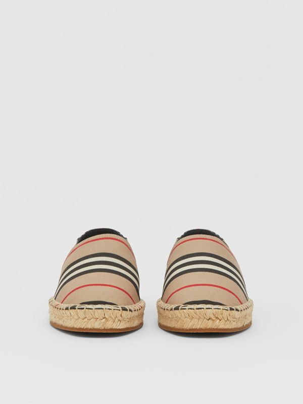 Icon Stripe Espadrilles in Archive Beige - Women | Burberry United Kingdom - cell image 2