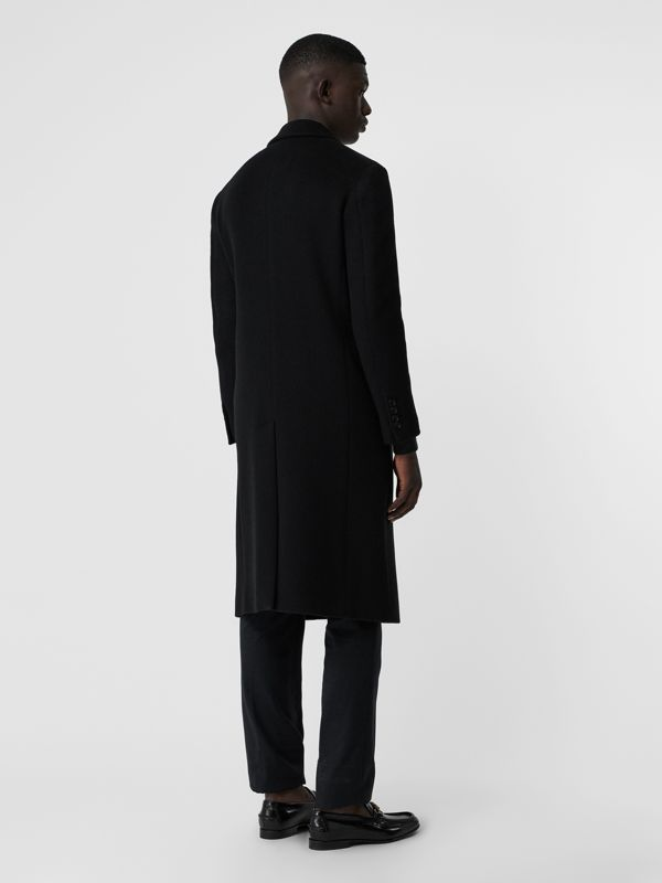 Double-faced Cashmere Tailored Coat in Black - Men | Burberry United Kingdom - cell image 2