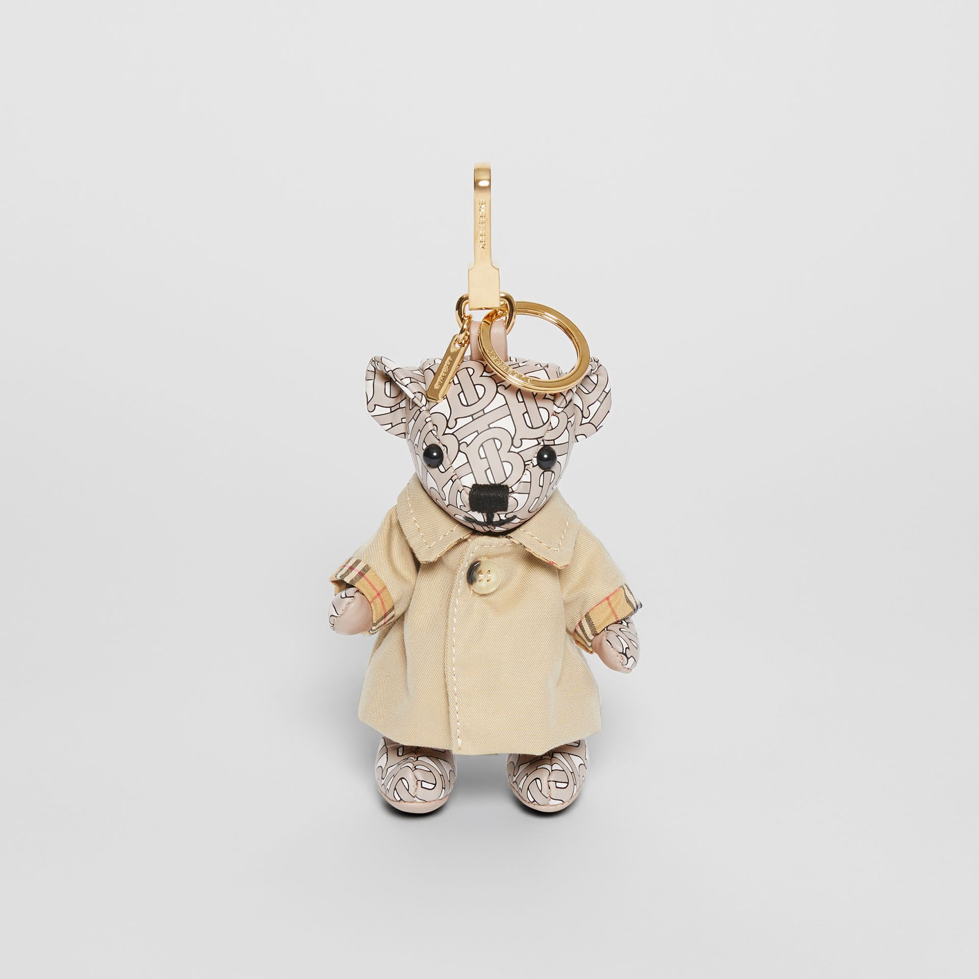 Thomas Bear Charm in Trench Coat in Beige - Women | Burberry - gallery image 2