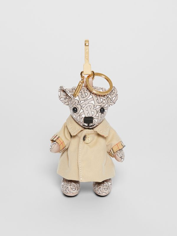 Thomas Bear Charm in Trench Coat in Beige - Women | Burberry - cell image 2