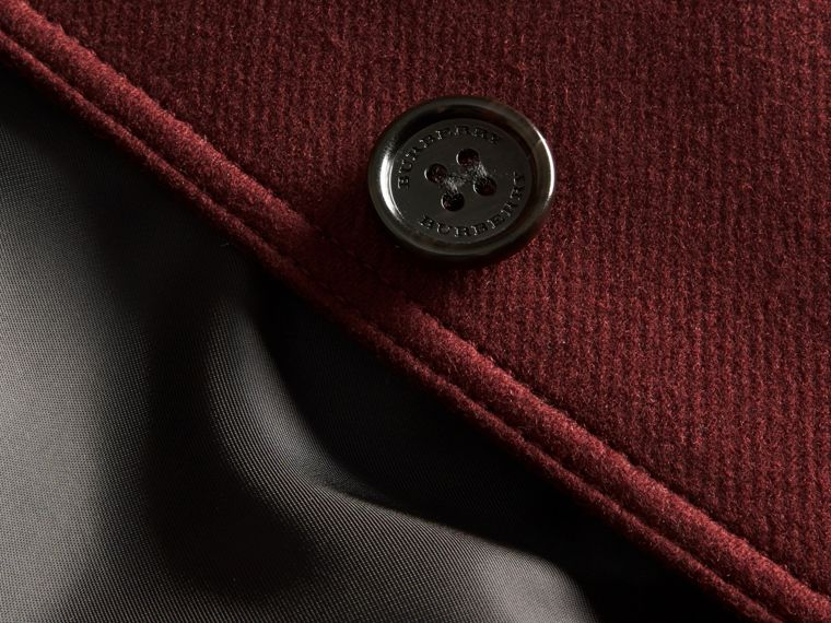 Garnet Technical Wool Cashmere Funnel Neck Coat - cell image 1