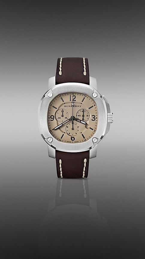 Brown The Britain BBY1101 47mm Chronograph - Image 1