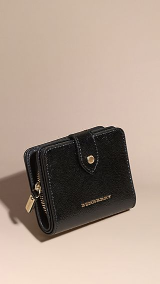 Patent London Leather Wallet