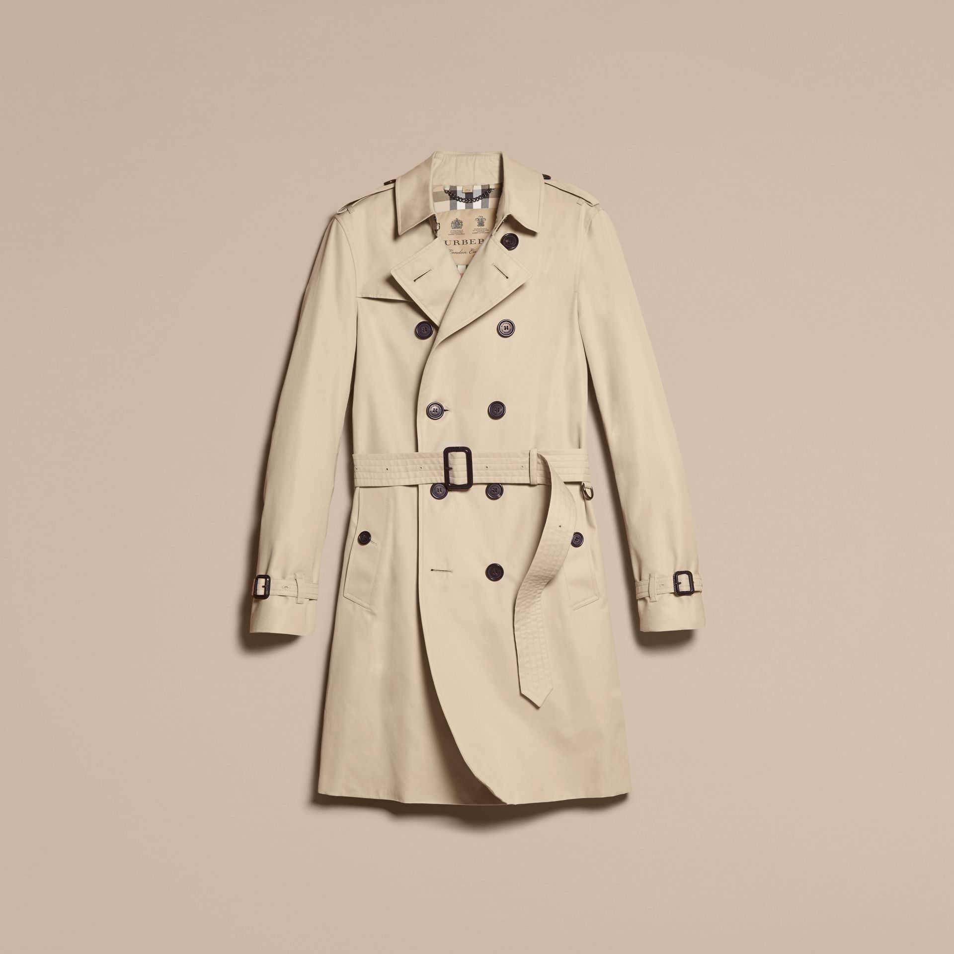 Stone Trench-coat Heritage long The Chelsea Stone - photo de la galerie 4